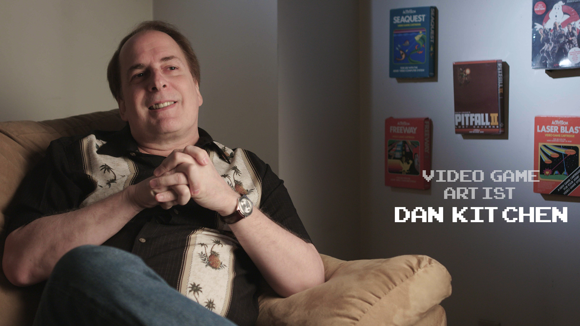Video Game Artist Dan Kitchen