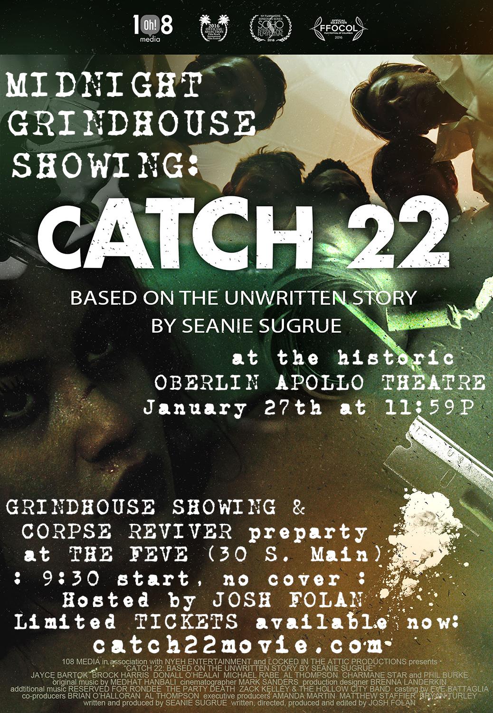 #catch22movie @ The Oberlin Apollo Theatre